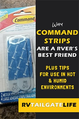 Tip: Command Hooks in the RV - RV Tailgate Life