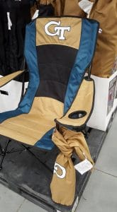 Costco Tailgating Chair for Georgia Tech