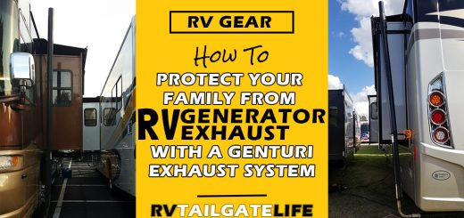 Learn how to protect your family from RV generator exhaust with an Genturi RV generator exhaust system