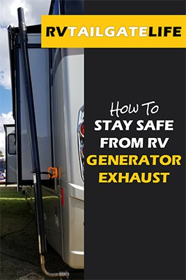 How to stay safe from RV generator exhaust with a Genturi Generator Exhaust System