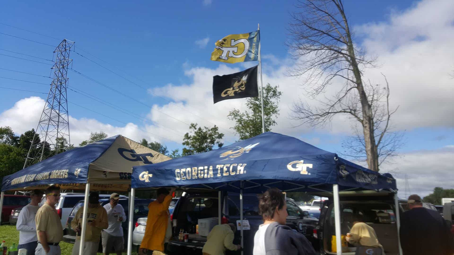 Look for back to school sales on tailgating gear