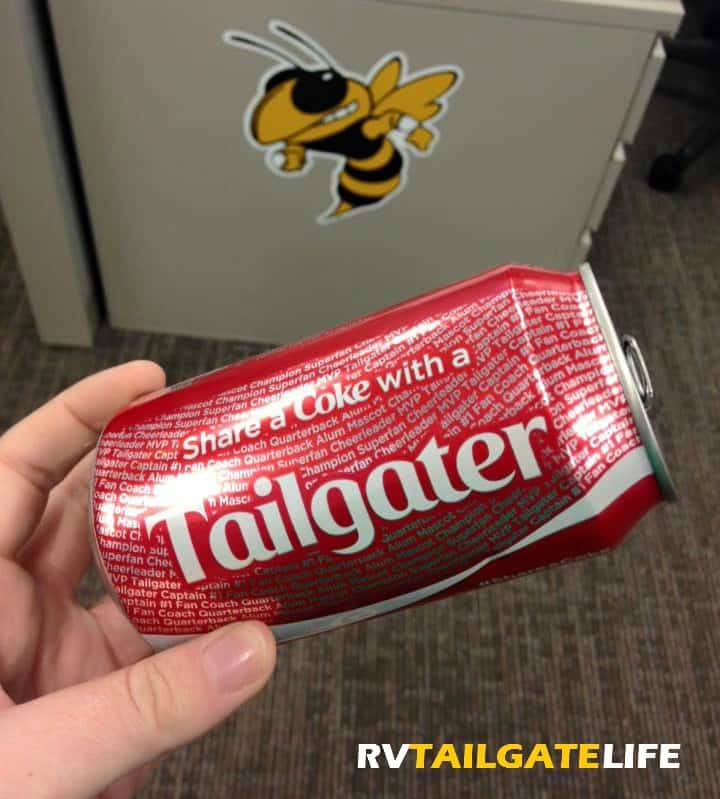 Share a Coke with a Tailgater