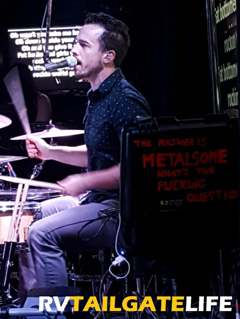 Rock out at Metalsome Live Band Karaoke - RV Tailgate Life