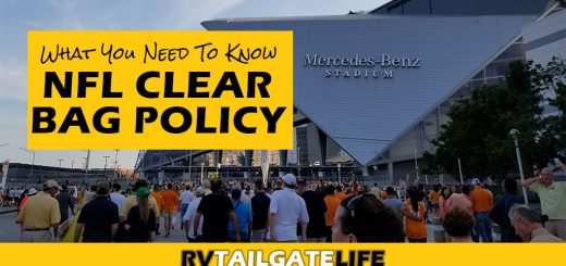 What you need to know about the NFL Clear Bag Policy to quickly get into games without waiting forever at stadium security lines