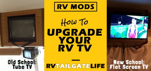 How to Upgrade Your RV TV
