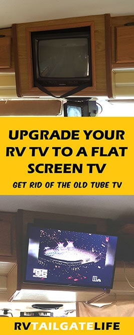 Upgrade your RV TV to a Flat Screen Digital TV