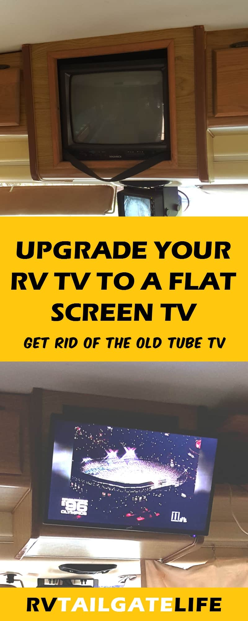 Upgrade to Digital Flatscreen TV - RV Tailgate Life