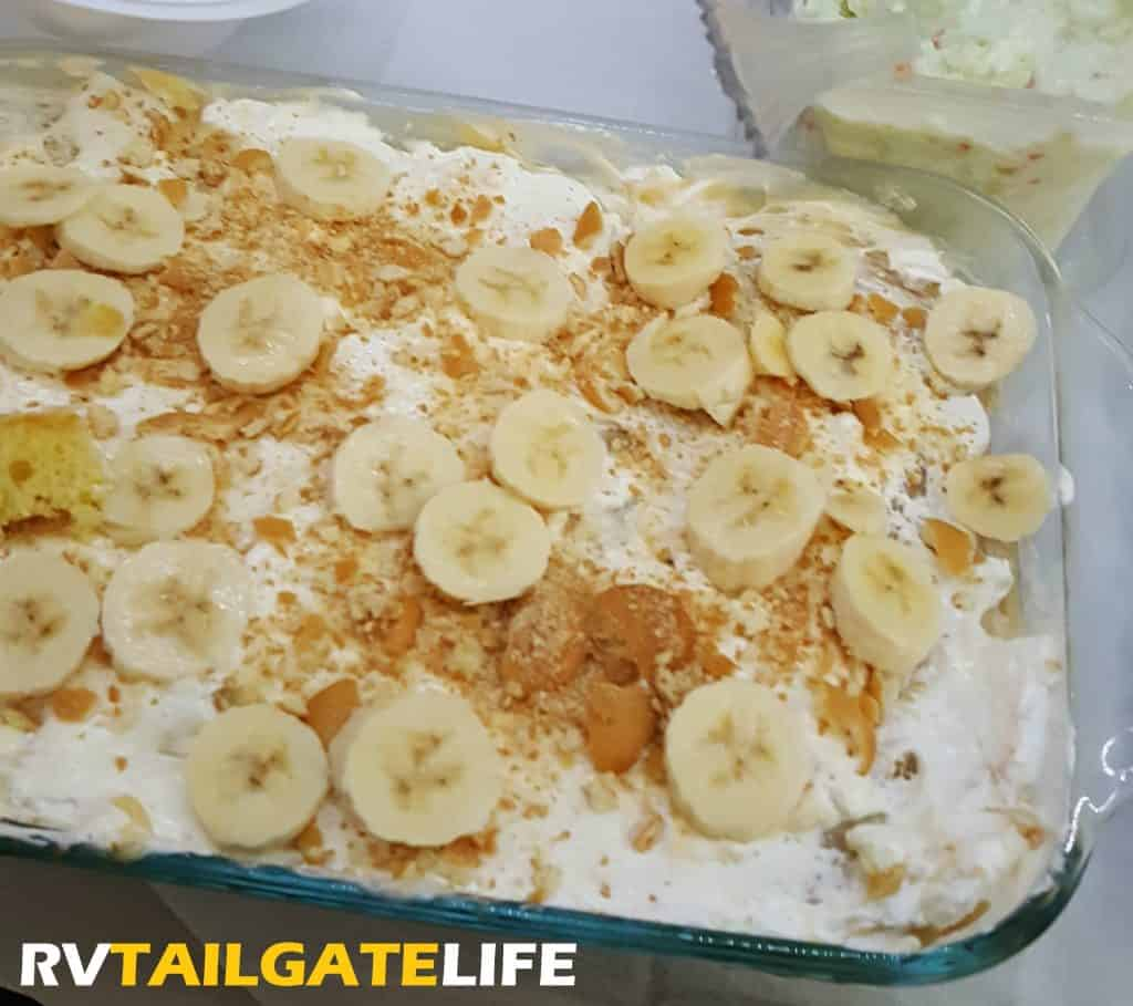 banana pudding cake banana pudding cake tailgating dessert rv 1482