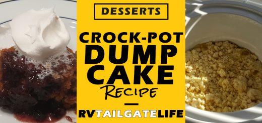 Crock-Pot Dump Cake Recipe from RV Tailgate Life