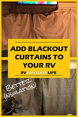 RV Windshield Blackout Curtain Upgrade for Better Insulation in your RV
