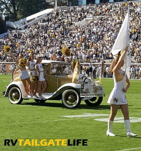 The Ramblin Wreck from Georgia Tech