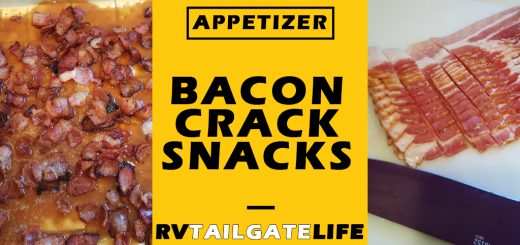 Bacon Crack Snacks - a perfect tailgating appetizer