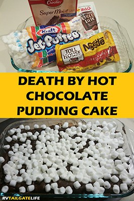 Death Hot Chocolate Cake