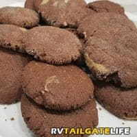 The Most Decadent Peanut Butter Chocolate Cookies Ever