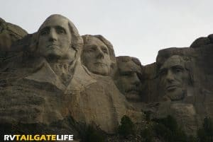 Mount Rushmore, along with Badlands National Park, are must sees on any trip to South Dakota