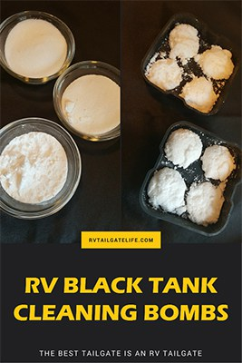 Make Your Own RV Black Tank Cleaning Bombs - RV Tailgate Life