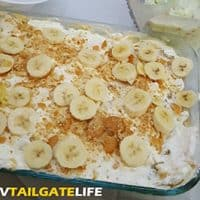 Banana Pudding Cake Perfect Tailgating Dessert