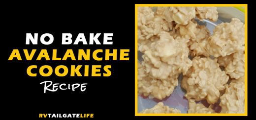 No Bake Avalanche Cookies Recipe - perfect for RV tailgating