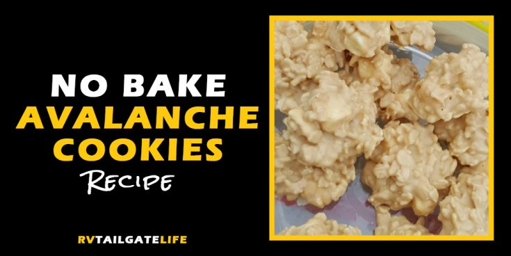 Avalanche Cookies: Another No Bake Cookie Recipe for Your Tailgate!