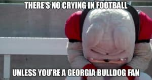 There's no crying in football. #THWG