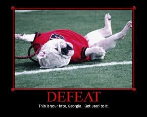 Bullpuppies need to get used to defeat! THWG!