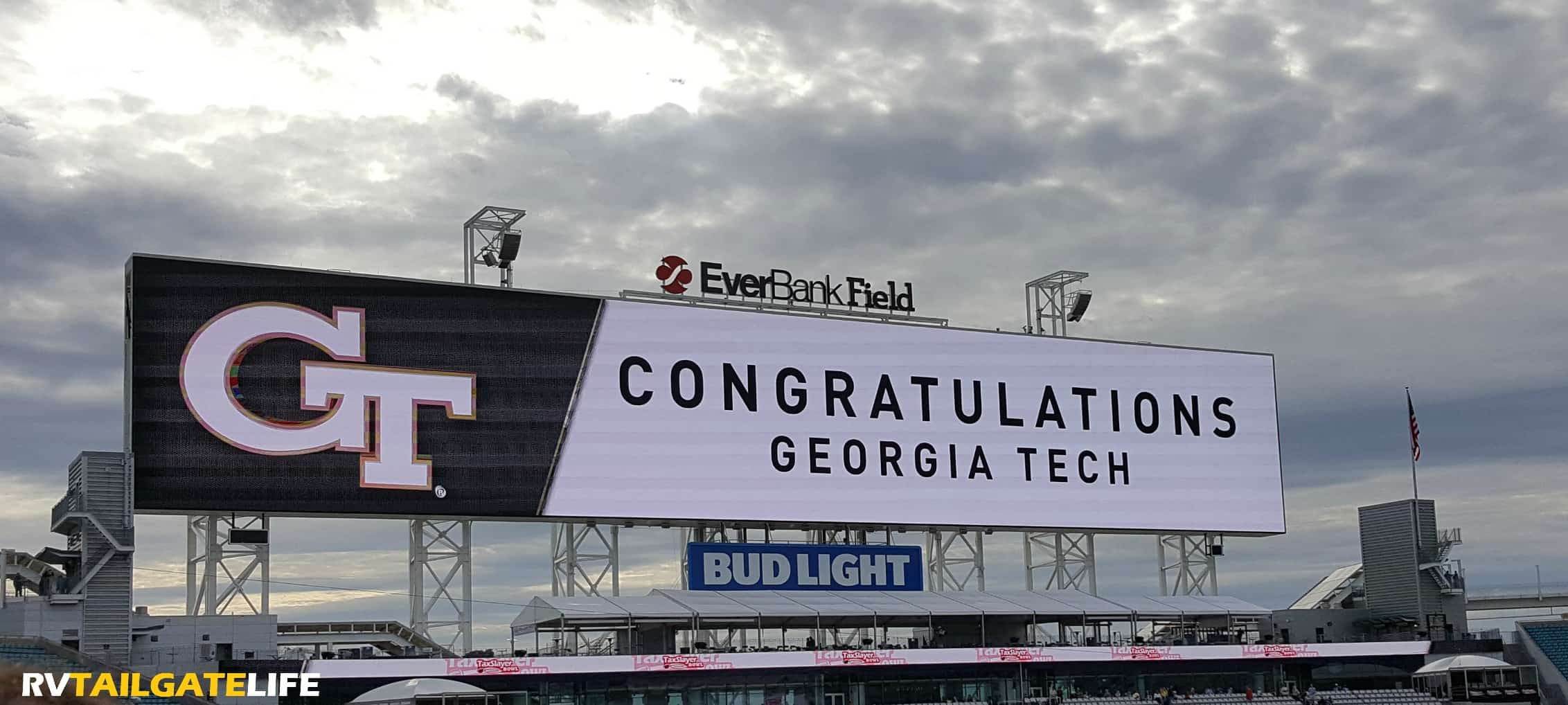Congratulations Georgia Tech, winners of the TaxSlayer Bowl in Jacksonville, FL