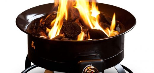 RV Gadget for tailgating: a propane fire pit!