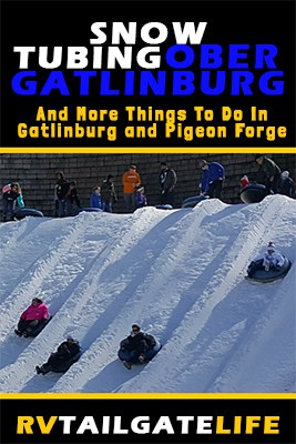 Go snow tubing at Ober Gatlinburg, Tennessee