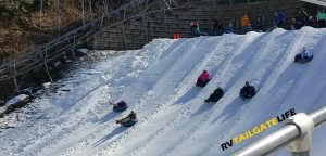 Snowtubing at Ober Gatlinburg, Tennessee