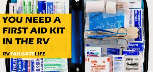 Include a first id kit in the RV!
