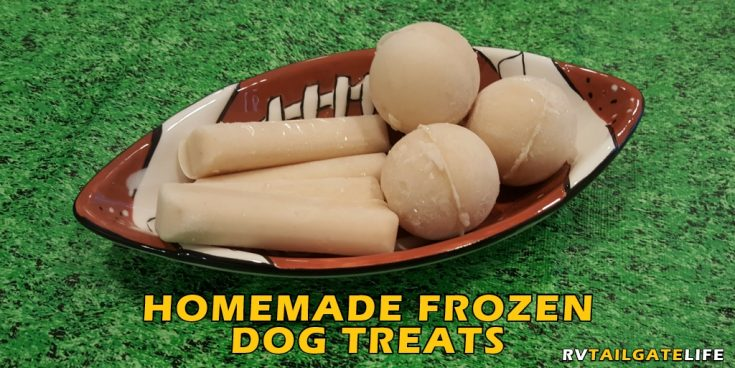 Frozen Dog Treats Perfect for Your Next Hot Tailgate