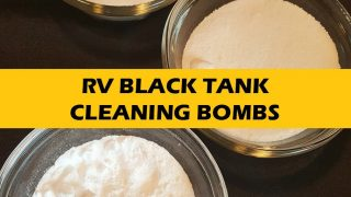Make Your Own RV Black Tank Cleaning Bombs