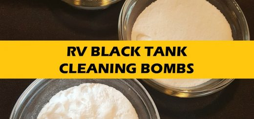 RV Black Tank Cleaning Bombs