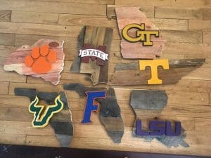 Custom pallet signs add style to your tailgate