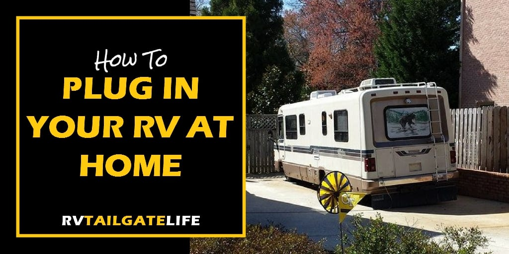 Plugging Your RV into Your Home Electric System - RV ... on