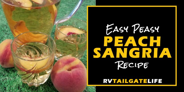 Easy Peasy Peach Sangria