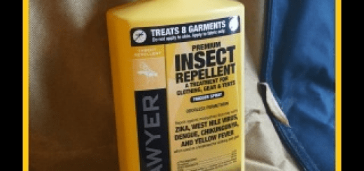 Treat your tailgating and camping gear with Permetrin to repel mosquitoes, fleas and other insects