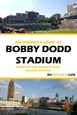 An Insider's Look at Bobby Dodd Stadium, home of the Georgia Tech Yellow Jackets, Atlanta, Georgia