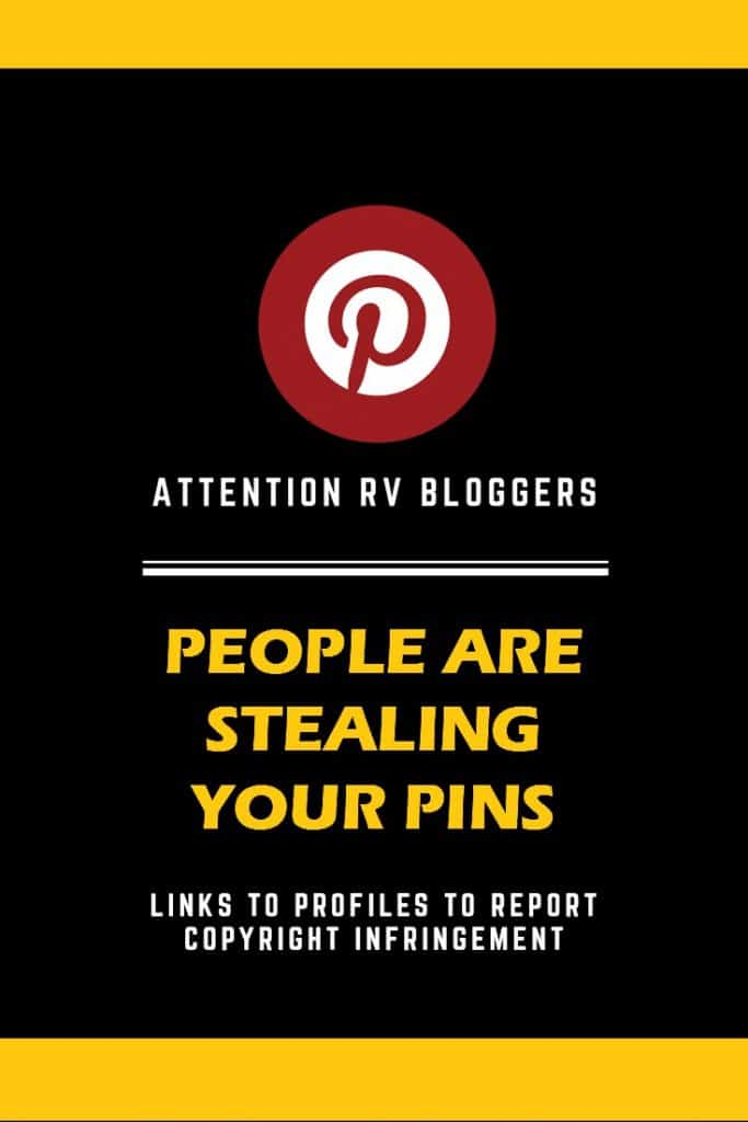 Attention RV Bloggers: People are stealing your pins!