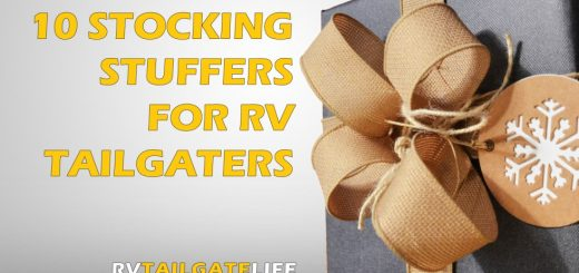 The best stocking stuffers for RV tailgaters!