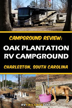Oak Plantation RV Campground, Charleston, South Carolina