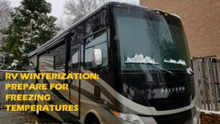 RV Winterization: Storing the RV in Freezing Temperatures