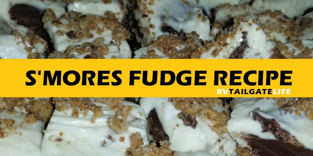 S'mores Fudge - all the great chocolate, marshmallow and graham cracker tastes you remember from your childhood camping trips