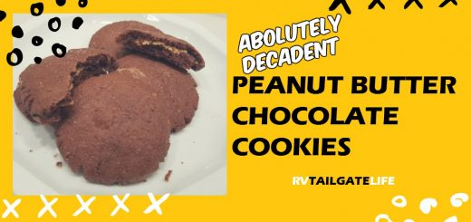 The most absolutely decadent peanut butter chocolate cookies ever