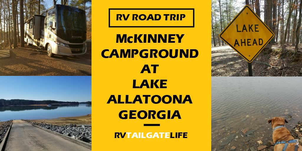 McKinney Campground, a Corp of Engineers campground on Lake Allatonna, Georgia