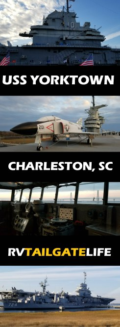 The USS Yorktown, Patriot's Point, Charleston, South Carolina