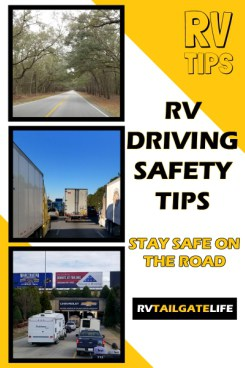 RV Driving Safety Tips
