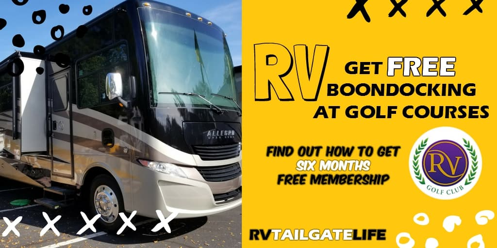 Find out how to get free RV boondocking at golf courses with The RV Golf Club
