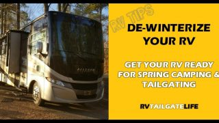 RV De-Winterization: Get Your RV Ready for Spring