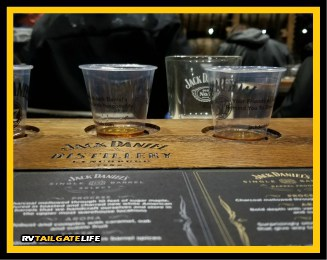 Sample some of Jack Daniel's best whiskeys on the Angel's Share Tour